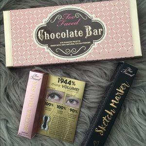Too Faced Chocolate Bar Bundle Set  - NIB